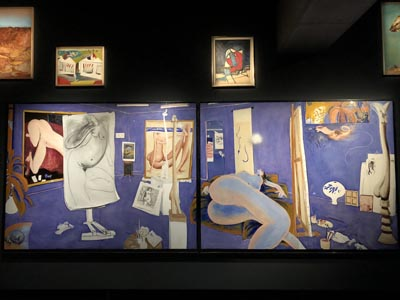 The Naked Studio, by Brett Whiteley at MONA.
